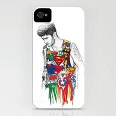 Zayn Superhero  iPhone (4, 4s) Slim Case