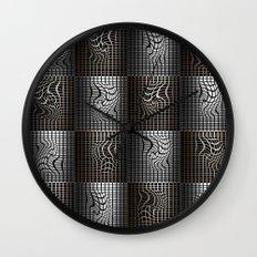 Grid I Wall Clock