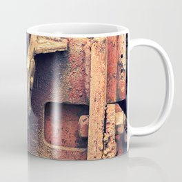 Old rusty iron piece Coffee Mug