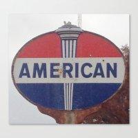 american Canvas Prints featuring American by Jonni R. Webb