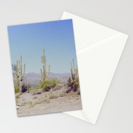 Desert Cactus Stationery Cards