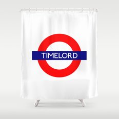 Timelord Shower Curtain