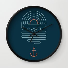 The Tale of the Whale Wall Clock