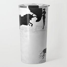 Bulls and bullfighters of Picasso IV Travel Mug