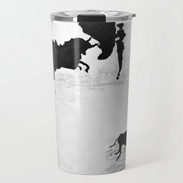 Bulls and bullfighters of Picasso IV Travel Mug
