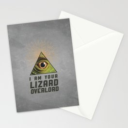 Lizard Lord Stationery Cards