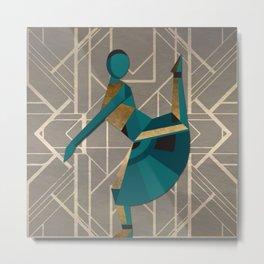 Art Deco Graphic No. 113 Metal Print