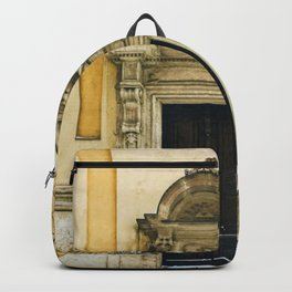 Yellow Walls, Winter Snow Backpack