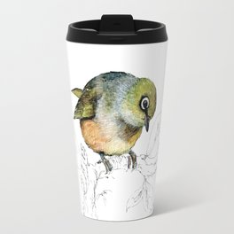 Sylvereye - Waxeye bird Travel Mug