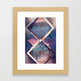 Mood Geometry #1 Framed Art Print