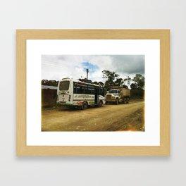 Colombia. Framed Art Print