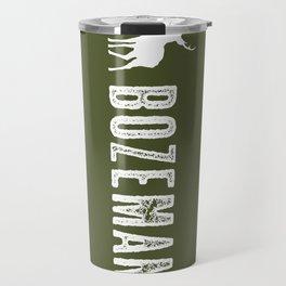 Deer: Bozeman, Montana Travel Mug