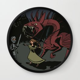 DiD (Dragon in Distress) Wall Clock