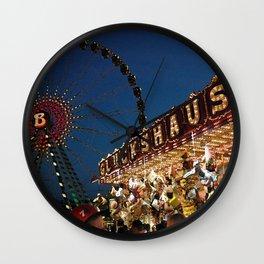 Lucky House Funfair Wall Clock