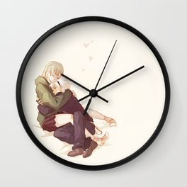 soul and maka Wall Clock