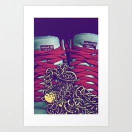 Liu Kang (Kicks) [Color] Art Print