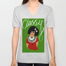 Classy chic Unisex V-Neck
