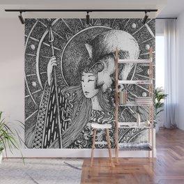 Athena Wall Mural