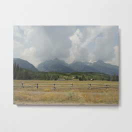 Country Roads, Take Me Home Metal Print