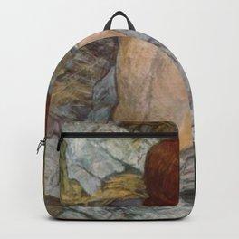 Henri De Toulouse Lautrec Rousse Backpack