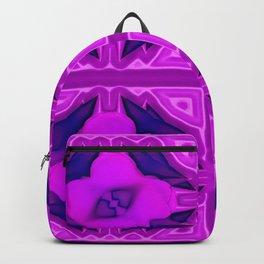 Softly lilac ornamentation Backpack