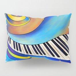 Redemessia - spiral piano Pillow Sham