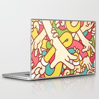 study Laptop & iPad Skins featuring Hand Study by Burnt Toast Creative