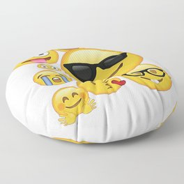 Emoji Pack ComboT-shirt Emoticon Smily Face Tshirt Floor Pillow