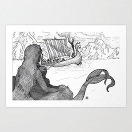 Sirens of Safe Passage Art Print