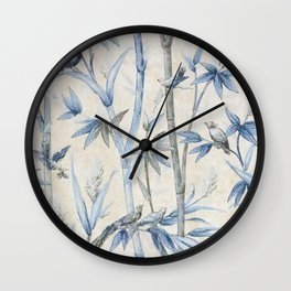 Old Style Graphic Pattern Wall Clock