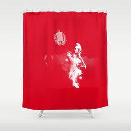 Hugo Chavez Shower Curtain