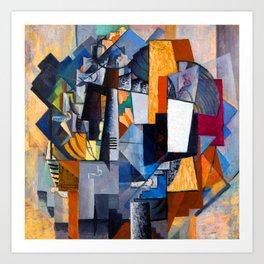Kazimir Malevich Bureau and Room Art Print