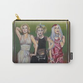 evolution of the scandalous blonde bombshell in an elevator Carry-All Pouch