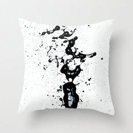 """Black Love (find the """"L"""") Throw Pillow"""
