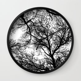 Branches 4 Wall Clock