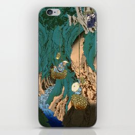 Mushroom Gatherers iPhone Skin