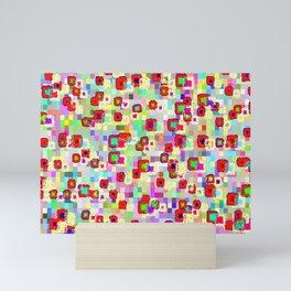 Rhythmic cloud 32 Mini Art Print