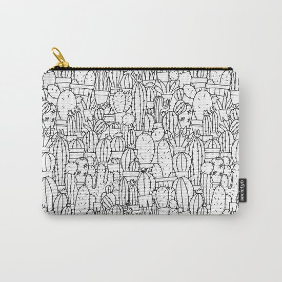 Cool as a Cactus Carry-All Pouch