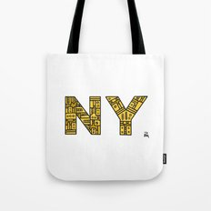 SNOW NY - PM Tote Bag