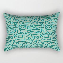 Asanas Rectangular Pillow