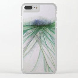 Rising to the Surface Clear iPhone Case