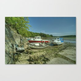 Fal Boats Canvas Print