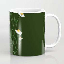 Dark Daisies Coffee Mug