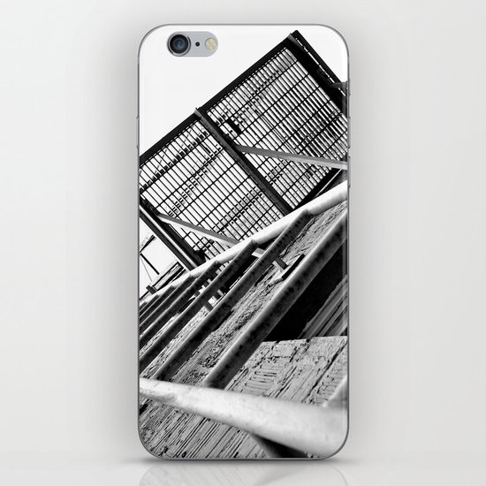 Alley balcony iPhone & iPod Skin