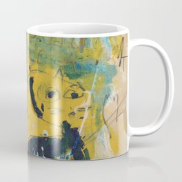 blue cat home Coffee Mug