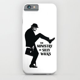 Ministry of Silly Walks iPhone Case