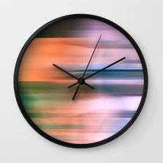 Eden Blur Wall Clock
