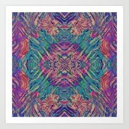 Turkish Kaleidoscope Art Print