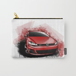 VW Golf GTi MKVII Carry-All Pouch