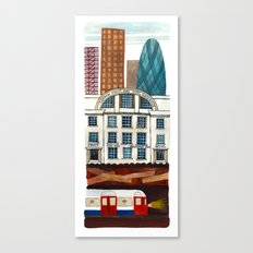 London Layers Canvas Print